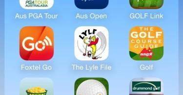 Nine must have Australian Golf Apps